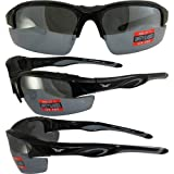 Global Vision Ninja Safety Sunglasses Gloss Black