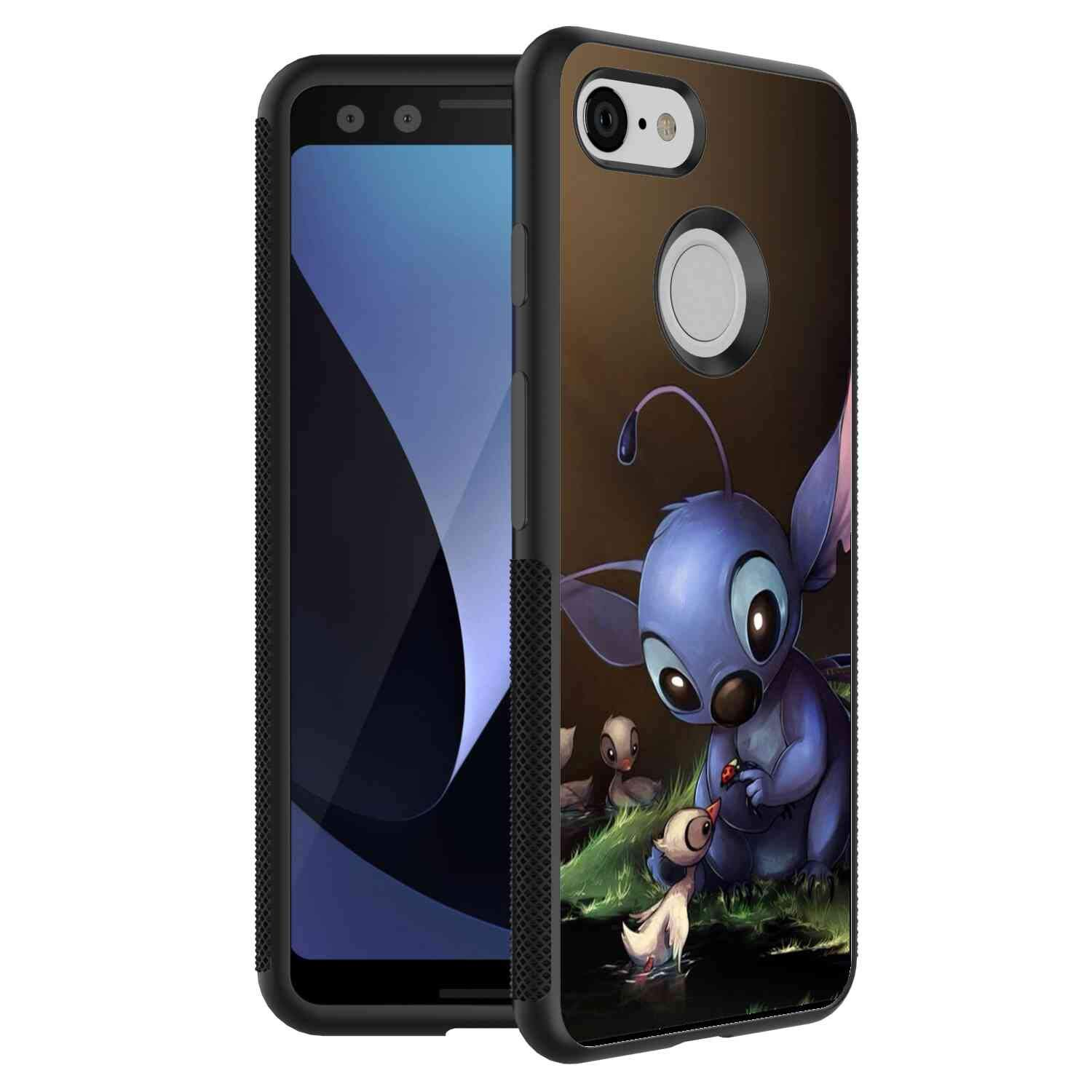 Amazoncom Stitch Cute Wallpaper Cell Phone Case Fits For