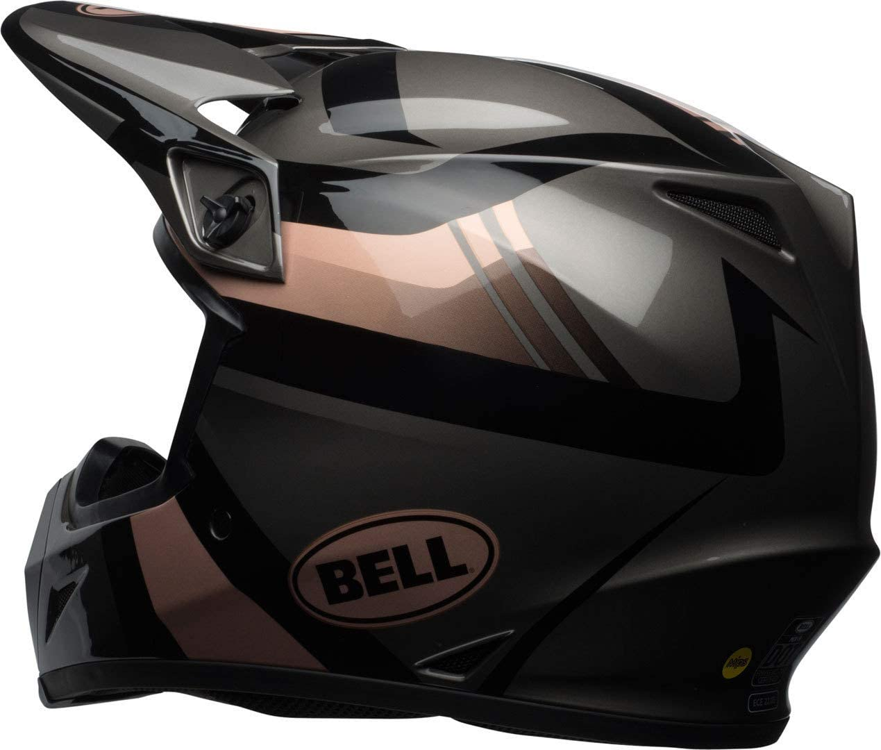 Bell MX-9 Mips Marauder Motocross Helmet M Blackout 7096937