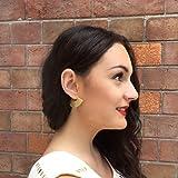 Lightweight Boho Bohemian Fan Earrings for Women