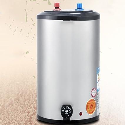 LJ Calentador de agua eléctrico 8L Sistema de panel de ducha instantánea Kit de calentador de