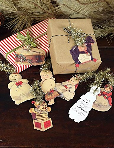 Victorian Trading Co Christmas Keepsake Gift Tags Free Ship - Gift Tags Victorian