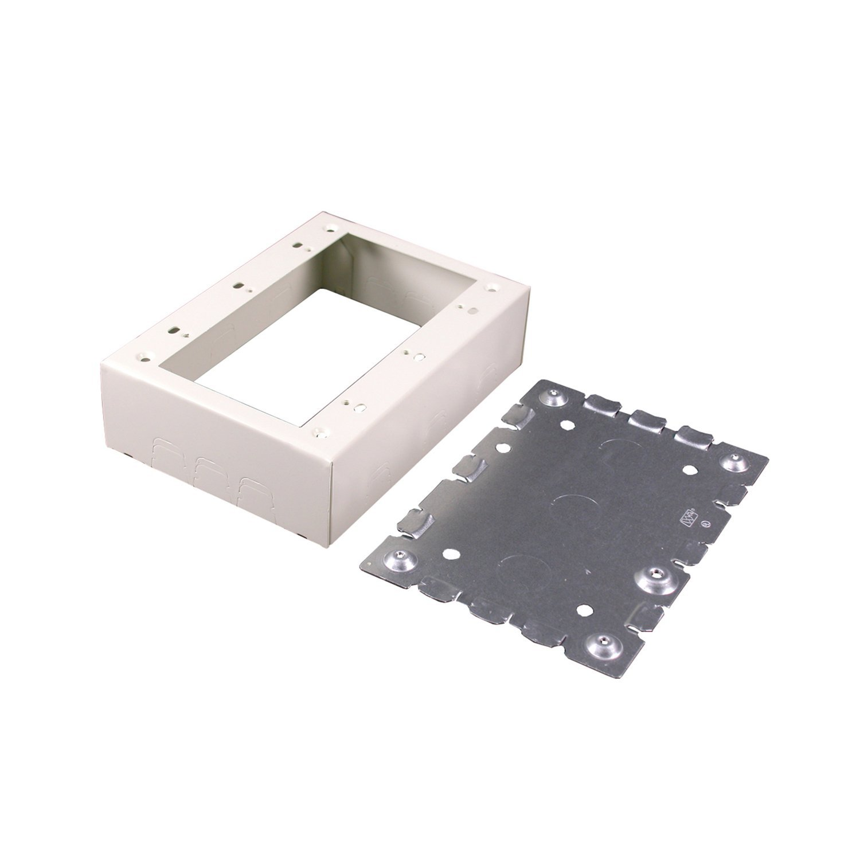 Legrand - Wiremold V5748-3 3-Gang Device Box, 1-3/4''