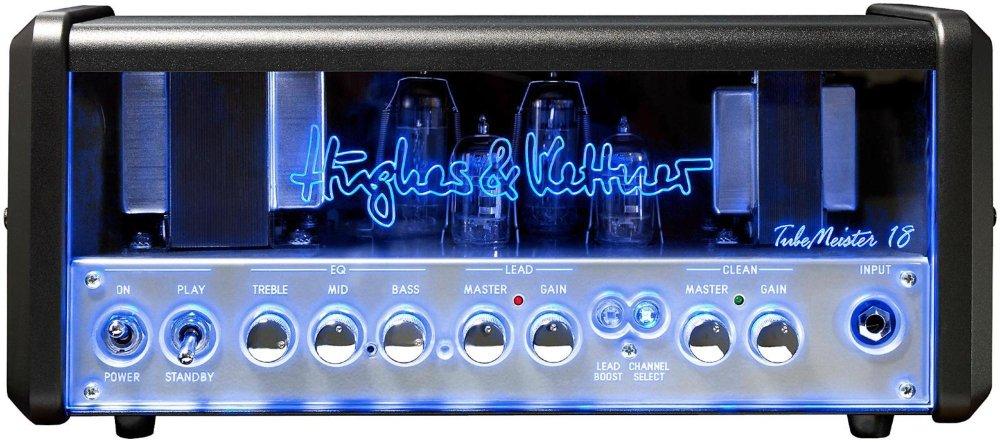 'Hughes & Kettner Tubemeister 18Head Show/Bühne mit Kabellos, schwarz, silber Verstärker Audio–Verstärker Audio (18W, XLR/1/4TRS, 356mm, 156mm, 150mm, 5kg) XLR/1/4TRS 356mm 156mm 150mm