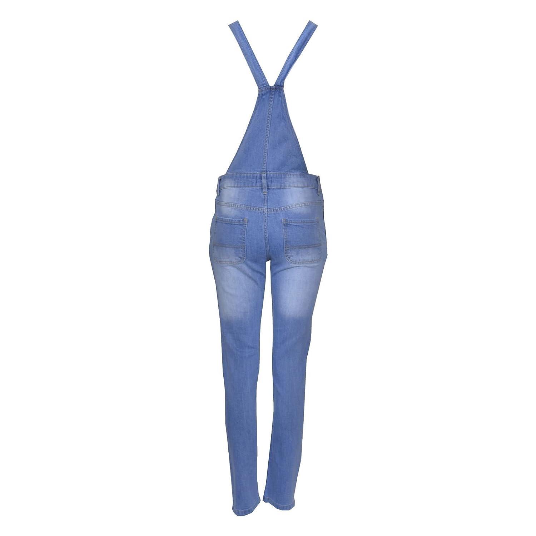 A2Z 4 Kids/® Bambini Ragazze Denim Allungare Dungaree Pantaloncini Tuta Playsuit Tutto in Uno Jeans Et/à 7 8 9 10 11 12 13 Anni