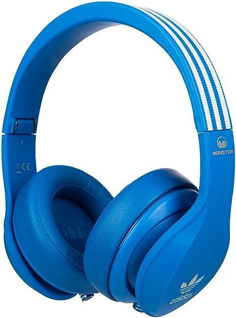 Monster Adidas - Auriculares de diadema cerrados, color azul ...