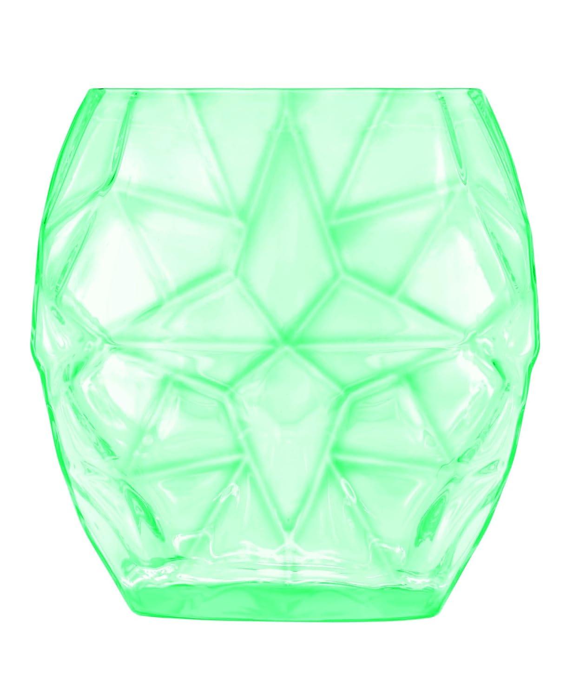 Luigi Bormioli Prezioso Water Glass (Set of 4), 13.5 oz, Green 11585/01