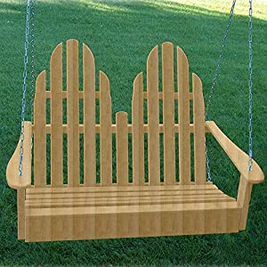 Prairie Leisure 4 ft. Adirondack Porch Swing