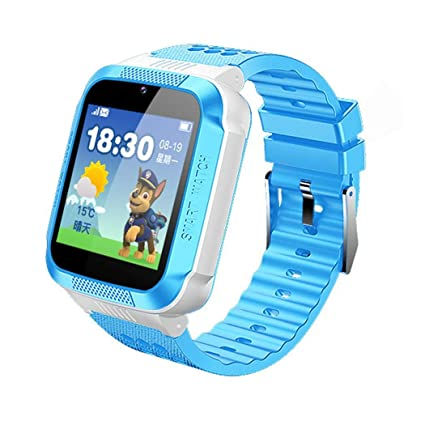 9b7dcbdfab6 Image Unavailable. Image not available for. Color  Yealsha Children s GPS  Base Station Tracking Positioning Phone Smart Watch ...