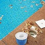 HIQE-FL-Pool-Skimmer-IntexSkimmer-per-Piscina-GonfiabileRetina-Raccogli-Foglie-PiscinaCalze-da-Filtro-per-PiscinaCalzini-da-Skimmer-per-PiscinaCestello-da-Piscina