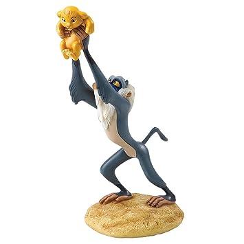 Este rey León – un rey es Born Rafiki & Simba – Figura decorativa