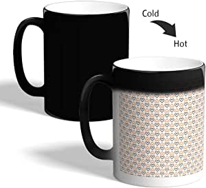 Decorative drawings Printed Magic Coffee Mug, Black