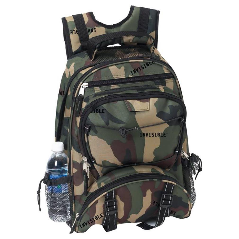 Extreme Pak Invisible Pattern Camouflage Water Resistant Backpack
