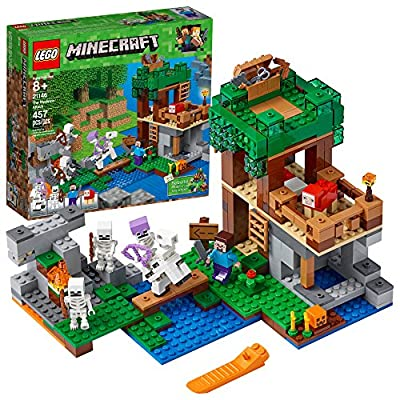 LEGO Minecraft the Skeleton Attack Building Kit (457 Piece), Multicolor