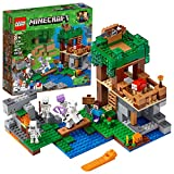 LEGO Minecraft The Skeleton Attack Building Kit (457 Piece), Multicolor