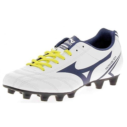 Mizuno - Botas de fútbol de Material Sintético para Hombre  Amazon.es   Zapatos y complementos be4aaf403ae65