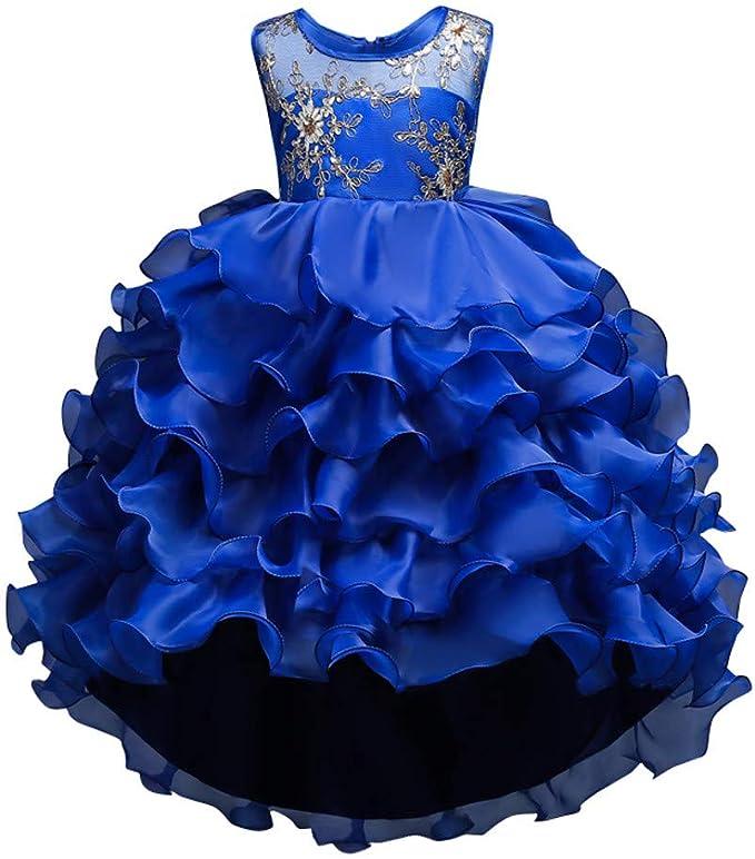 Vestiti Cerimonia 14 Anni.Mbby Vestiti Cerimonia Bambine 2 14 Anni Vestito Da Carnevale Per