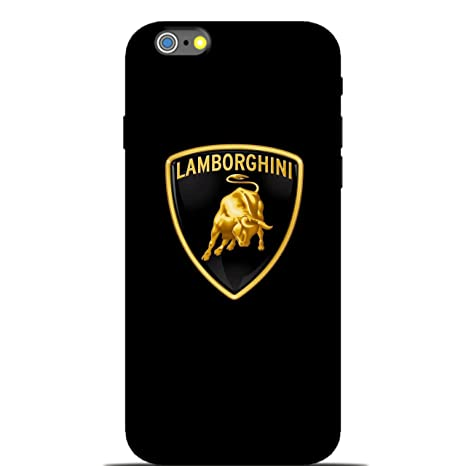 Style Baby Lamborghini Logo Apple Iphone 6 Phone Case Amazon In