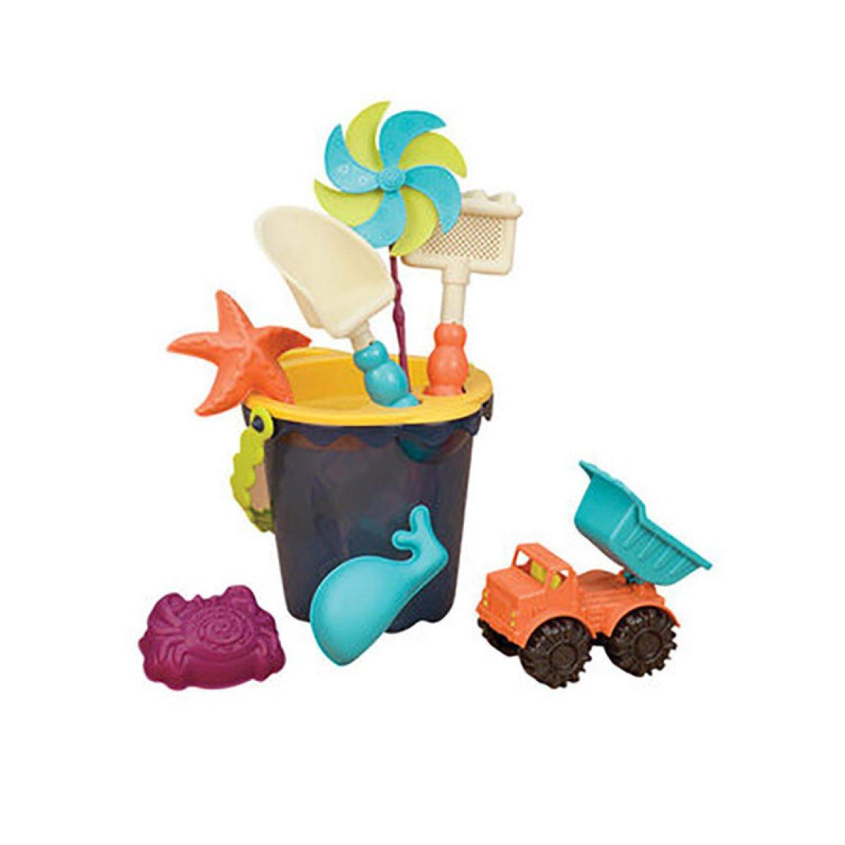 precio al por mayor MEI MEI MEI Juguetes de playa Juguetes de playa para niños Bebé Mediano Cubo de playa Rompecabezas para niños Baño de agua Juego de juego  primera vez respuesta