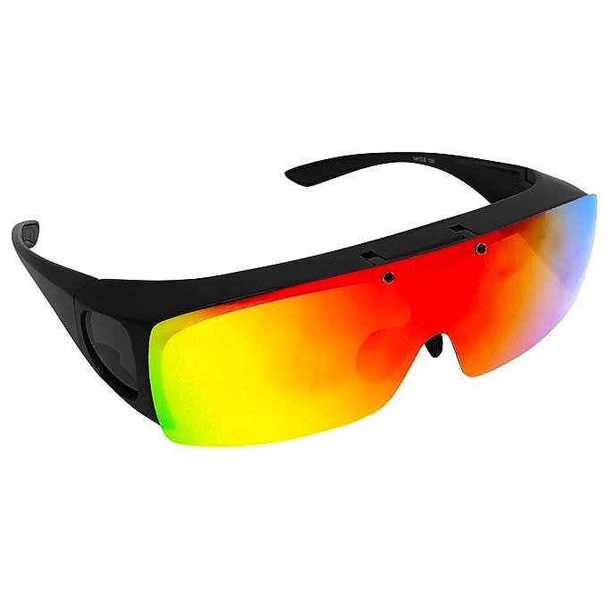 Amazon.com: Bell + Howell TAC FLIP UP - Gafas de sol ...
