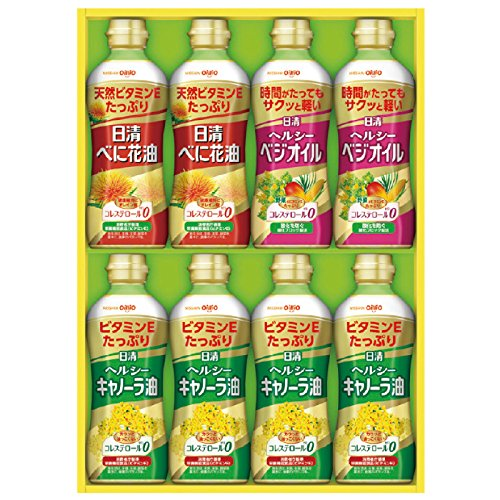 Nisshin Healthy oil gift PTP-40 15-2704-524 by Nisshin Oillio