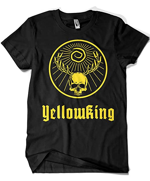 Camisetas La Colmena 3448-Camiseta Premium, true Detective - Yellowmeister (Dr.Monekers)