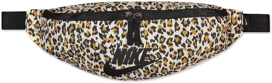 RIÑONERA NIKE Heritage Hip Pack Unisex-Adulto Leopardo Talla Unica: Amazon.es: Zapatos y complementos