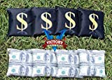Victory Tailgate Custom Money Cornhole Bag Set (corn Filled)