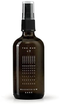 The Nue Co.   All Natural Magnesium Ease Stress + Tension Relief (3.38 Oz / 100 Ml) by The Nue Co.