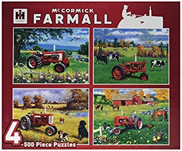 MasterPieces Puzzle Company Farmall Jigsaw Puzzles (500-Piece), Art by Greg Giordano