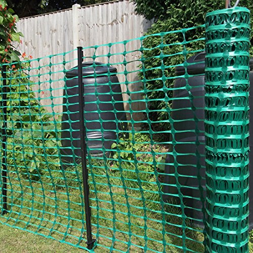 True Products B1001f Free Delivery Plastic Mesh Barrier