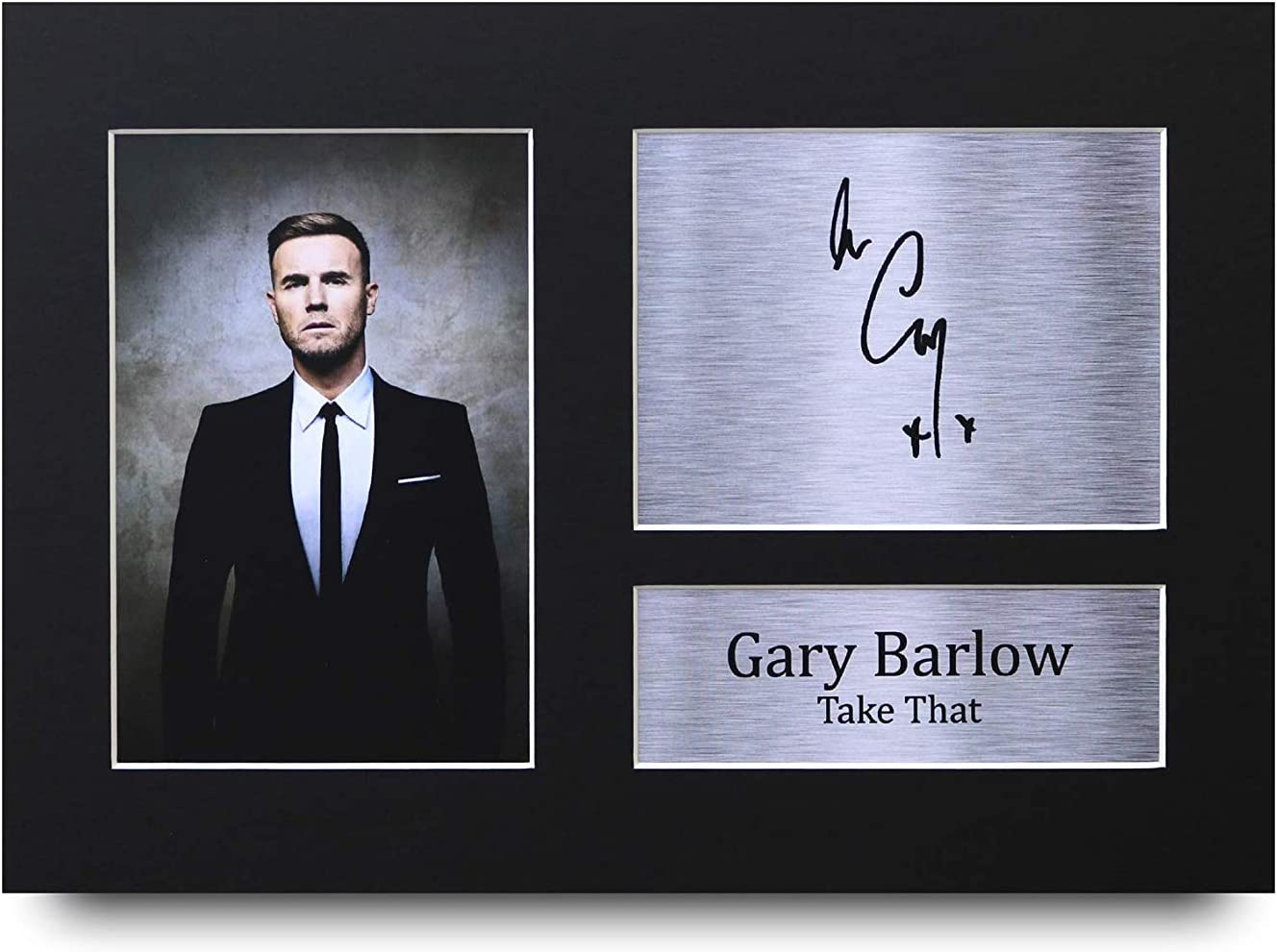 HWC Trading Gary Barlow Signed A4 Printed Autograph Take That Music Print Photo Picture Display