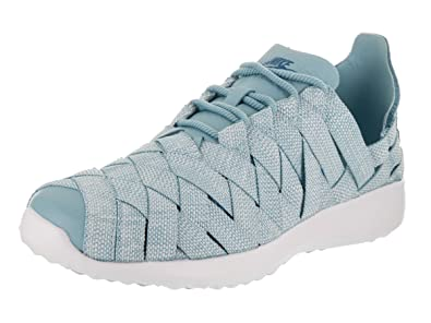 huge selection of 810ae a99d2 Nike Women s Juvenate Woven PRM Mica Blue Industrail Blue Casual Shoe 5.5  Women US