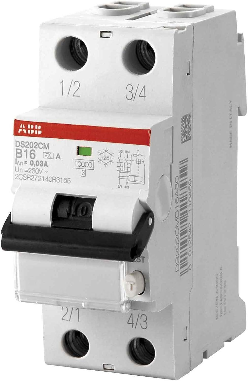 ABB DS202C M INT.DIFF.MAGN 10KA 2P APR B13 30MA