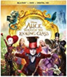Alice Through the Looking Glass (BD + DVD + Digital HD) [Blu-ray]