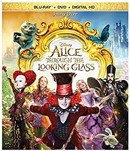 Cover Image for 'Alice Through the Looking Glass (BD + DVD + Digital HD)'