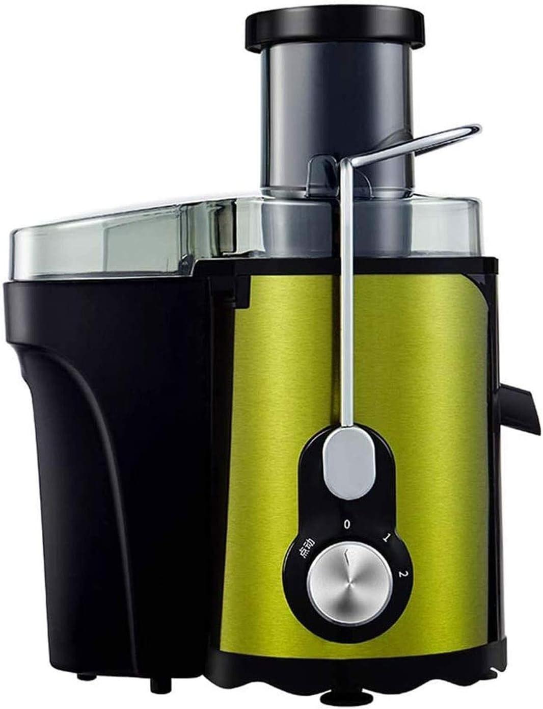 Adesign Juicer Máquinas Frutas y Vegetales Juicer Expacto Extractor Extractor Ancioso Exprimidor Centrífugo, Easy Clean Juicer, Acero Inoxidable, BPA-Free