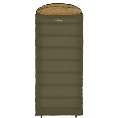 TETON SPORTS Celsius XL Sleeping Bag; Lightweight Sleeping Bag Great for Cold Weather Camping; Hiking, Camping; Great to Come Back to After a Long Day on the Trail