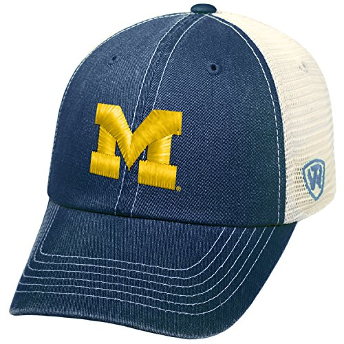 - Michigan Wolverines Official NCAA Adjustable Ranger Hat Cap by Top of the World 070704