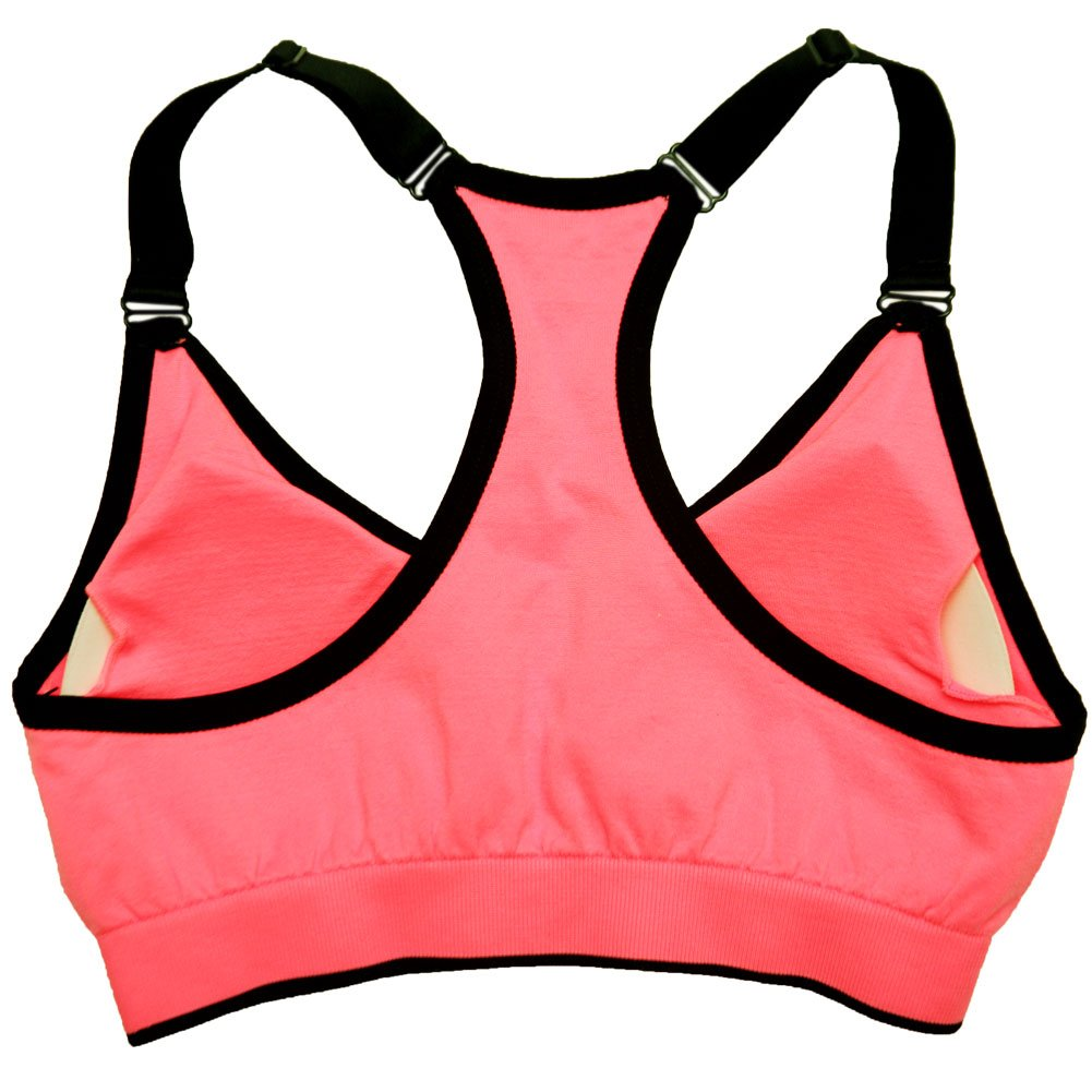 761f74bb02 PUMA Women s Padded Light Support Sports Bra PF1722270BR (Small ...