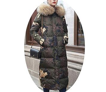 Boots Chaqueta de Plumón de Invierno, Cuello Delgado de Mujer Adelgazante Y Grueso, Sección