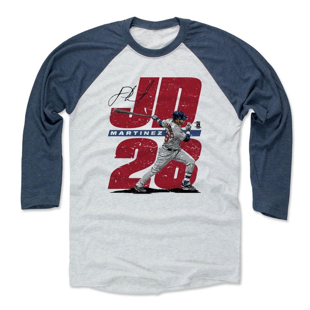 7030a7f3a 500 LEVEL J.D. Martinez Baseball Tee Shirt - Boston Baseball Raglan Shirt - J.D.  Martinez JD28