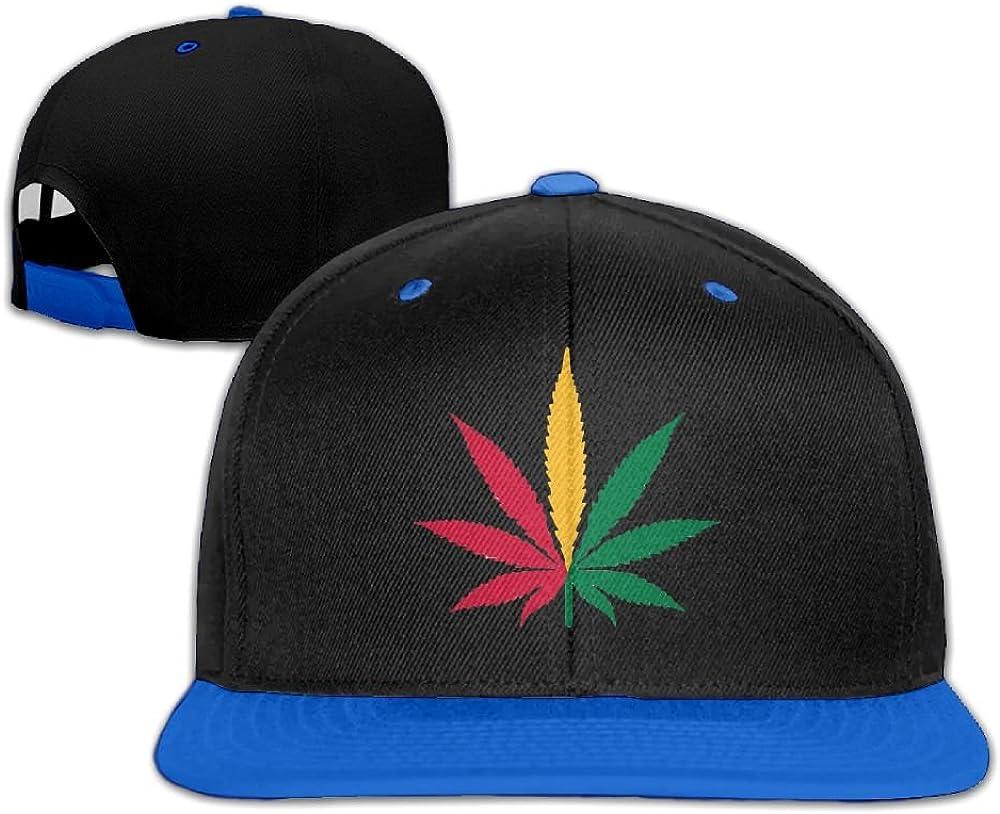Humaoe Hemp Leaf Jamaica Flag Fashion Peaked Baseball Caps//Hats Hip Hop Cap Hat Adjustable Snapback Hats Caps For Unisex
