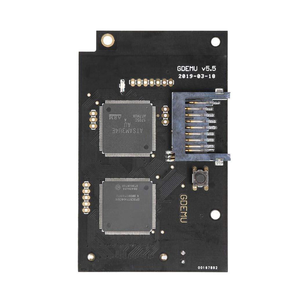 1KTon Optical Drive Simulation Board For SEGA DC Game Machine GDEMU Dreamcast V5.5 by 1KTon
