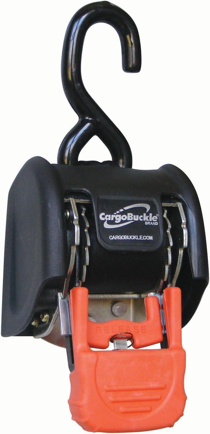 1 x 72 Pair by CargoBuckle CargoBuckle Mini G3 Retractable Ratchet Tie-Down