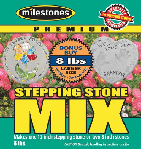 Midwest Products Premium Stepping Stone Cement Mix, 8-Pounds