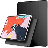 JETech Magnetic Case for iPad Pro 12.9 Inch (2018 Model), Support Apple Pencil 2nd Generation Charging, Magnetic Attachment, Cover with Auto Wake/Sleep