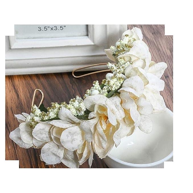 Lia Vintage Haarschmuck Kranz Hochzeit Blumen Elegant Braut Cool