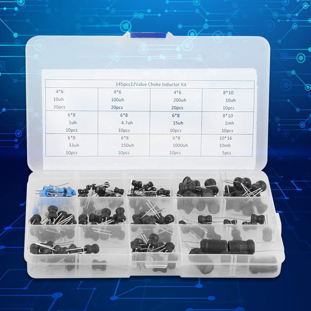Inductances de starter Assortiment dinducteurs Kit condensateur /électrolytique Kit de condensateur /électrolytique