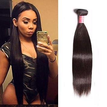 Sunber Malaysian Hair Straight Bundles 10 Inch 10a Virgin Unprocessed Straight Human Hair Bundles Soft